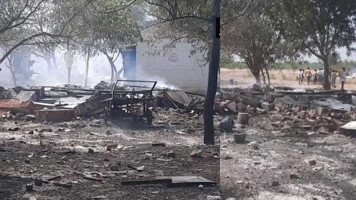तामिळनाडूमध्ये फटाक्याच्या कारखान्यात स्फोट; ११ जणांचा मृत्यू