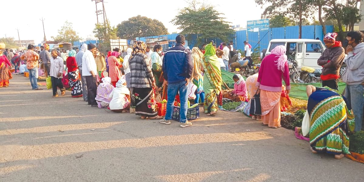 Relief to residents as vegetable market shifts