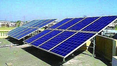 Solar power project ready for operation
