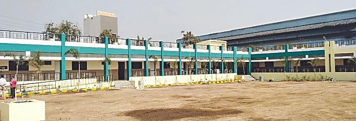 श्रमिकनगर येथील मनपा शाळेचे बांधकाम पूर्ण