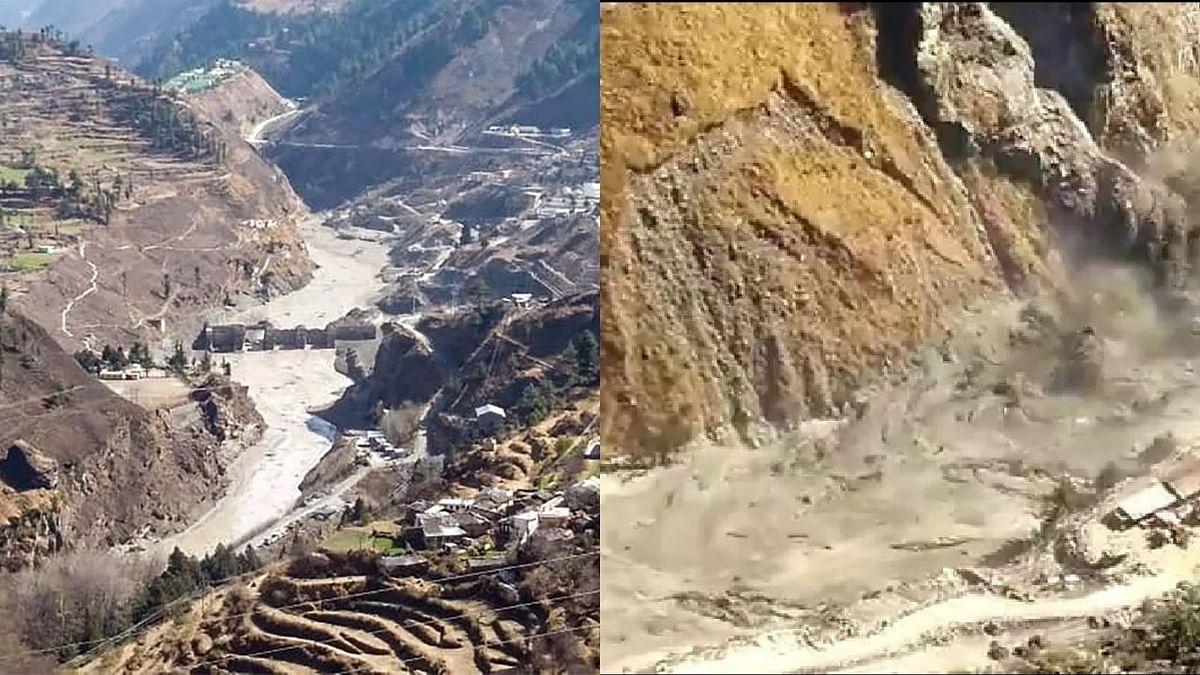Uttarakhand disaster : चमोलीमध्ये १० मृतदेह सापडले, तपोवन धरणाजवळ अनेकजण अडकल्याची भीती