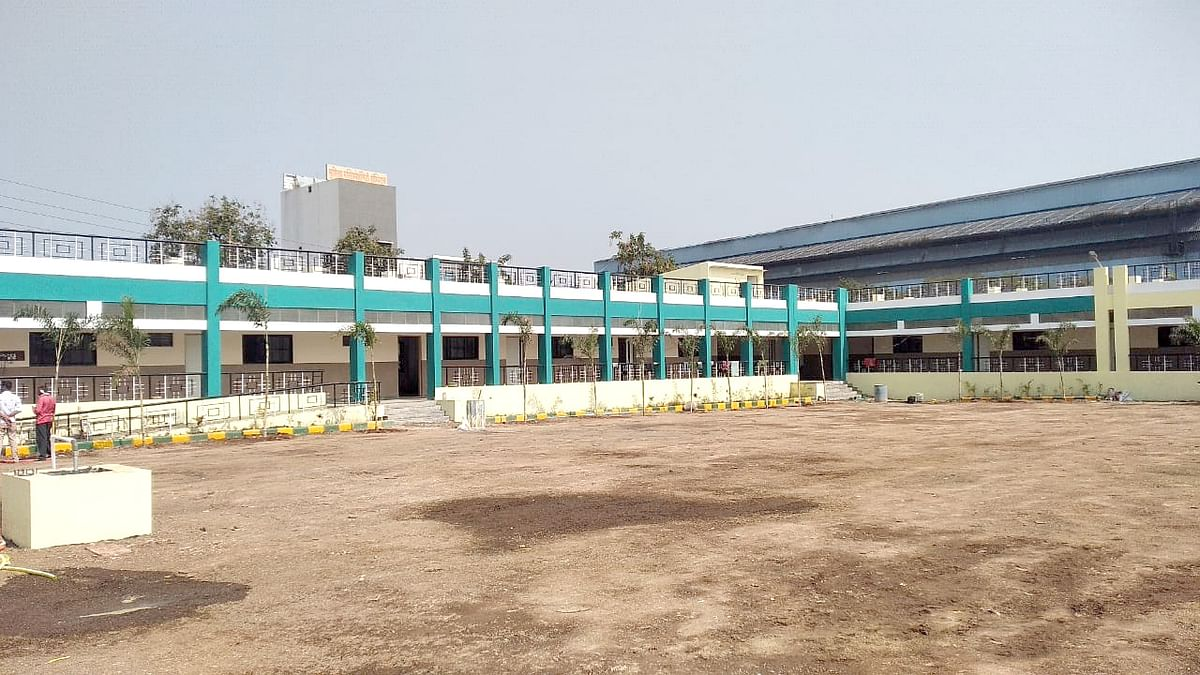 NMC constructs new school building for children