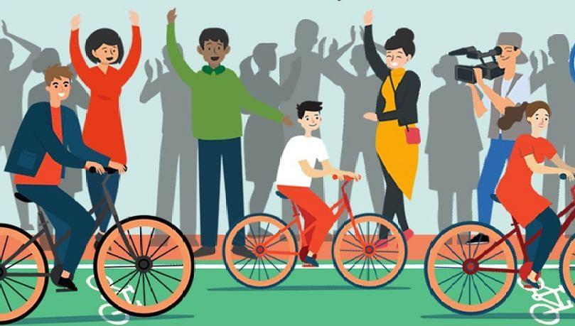 सायकल्स फॉर चेंज चॅलेंज मध्ये नाशिकचा समावेश
