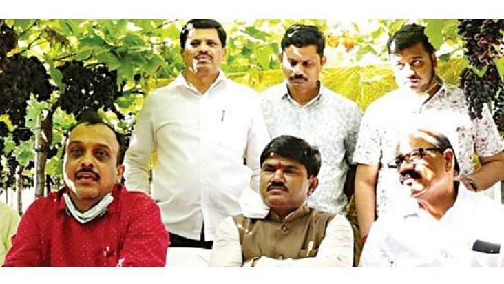 Consumers should avail the benefit of e-grape festival: MP Godse