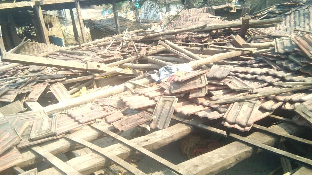 घरकुलाचे छप्पर कोसळून महिलेचा मृत्यू