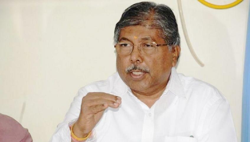 गृहमंत्र्यांचा राजीनामा घ्या - भाजप प्रदेशाध्यक्ष चंद्रकांत पाटील यांची मागणी