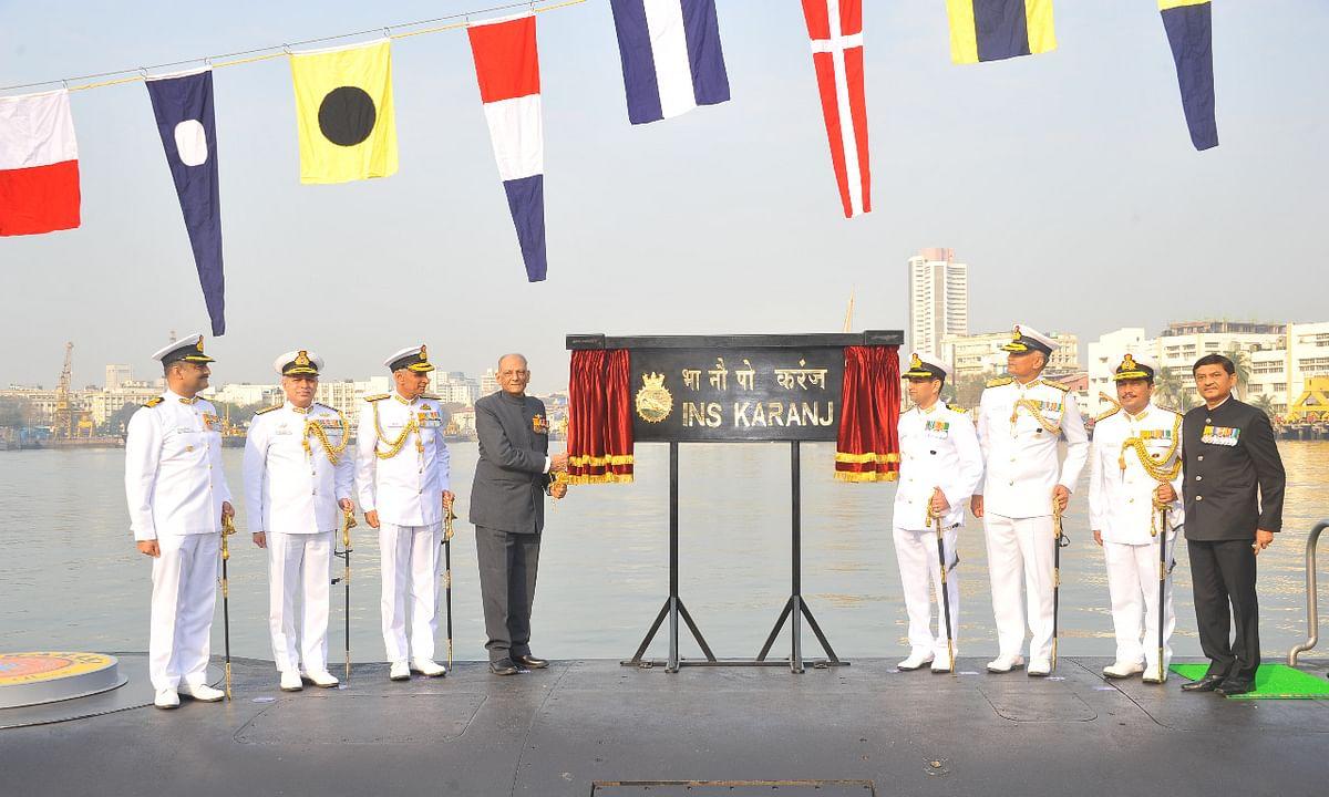 Photo : स्वदेशी INS Karanj पाणबुडी नौदलात दाखल