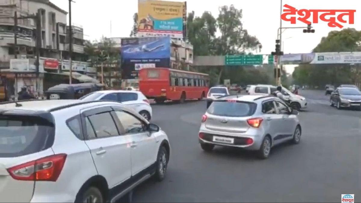 व्हिडीओ स्टोरी : शहरातील सिग्नल यंत्रणा विस्कळीत