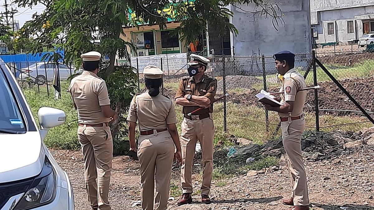 गौतम हिरण हत्या प्रकरण : विशेष पोलिस महानिरीक्षक प्रतापराव दिघावकर यांची बेलापूरला भेट