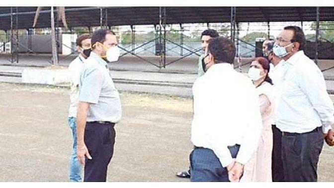 Municipal Commissioner visits Thakkar's Dom