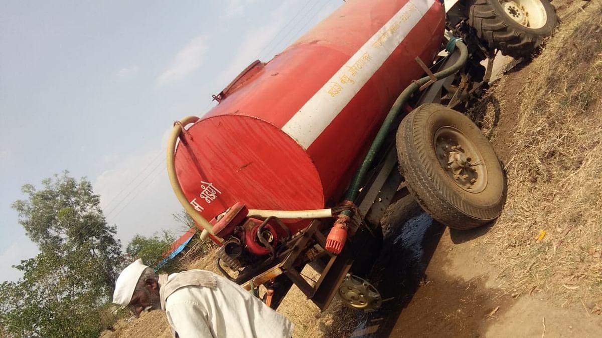 जिल्ह्यात १७ गावांसह २५ वाड्याना १३ टँकरने पाणीपुरवठा