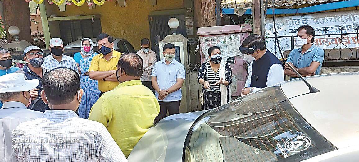 इंदिरानगर परिसरात कमी दाबाने पाणीपुरवठा