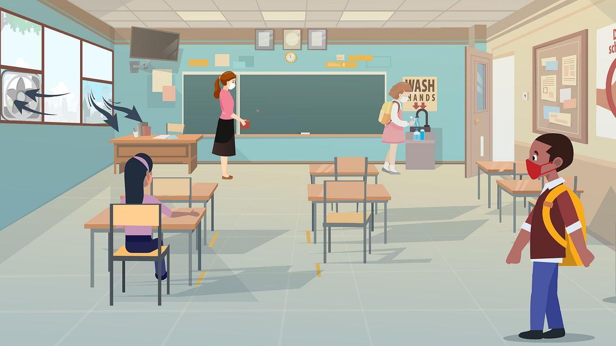 अहो आश्चर्यम... शाळेची इमारतही न पाहता पहिलीचे विद्यार्थी दुसरीत!