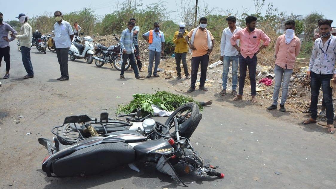 ममुराबाद रोडवर अपघातात एक जण ठार
