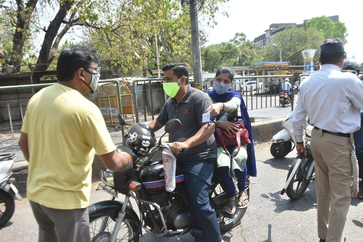 नाशिक पोलीसांनी घेतले मनावर, दिवसभर कारवाई