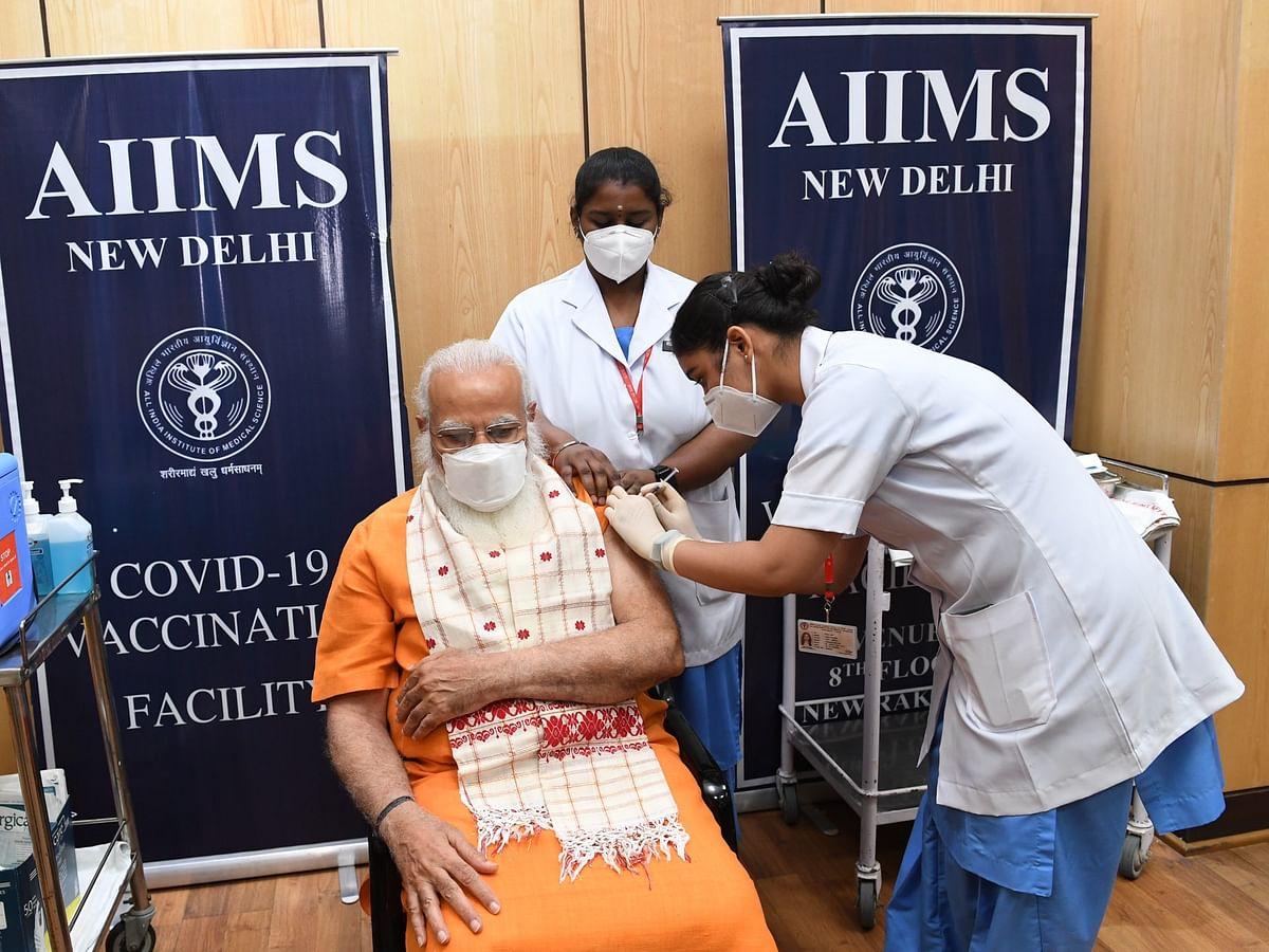 COVID19 Vaccine : पंतप्रधान मोदींनी घेतला करोना लसीचा दुसरा डोस