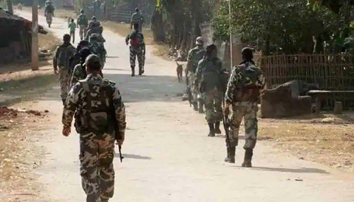 Jammu & kashmir : जम्मू काश्मिरात दहशतवाद्यांसोबत चकमक, पाच जवान शहीद
