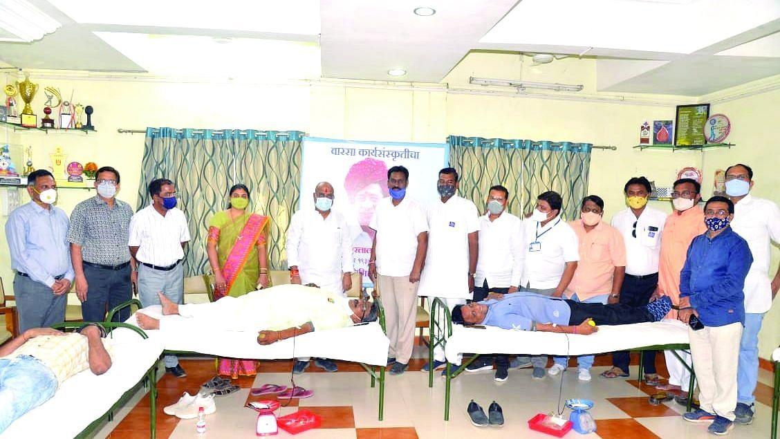 भगवान महावीर जन्मकल्याणक महोत्सवात रक्तदान शिबिरासह विविध कार्यक्रम