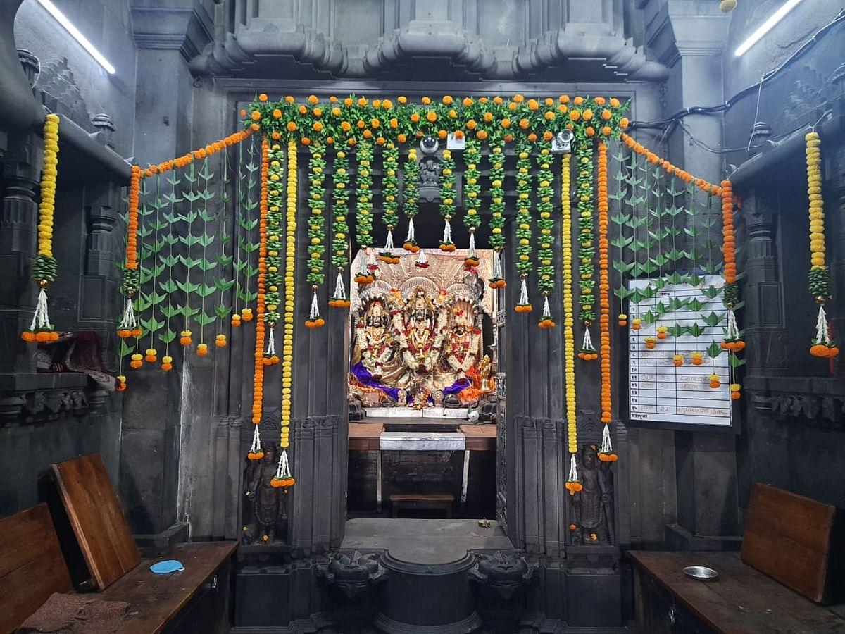 Video : काळाराम मंदिर रामनवमी उत्सव यंदाही भाविकांशिवाय..