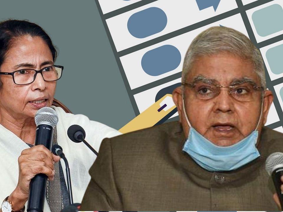 West Bengal Election 2021 : मतदान केंद्रावरुन ममता बॅनर्जींचा थेट राज्यपालांना फोन, म्हणाल्या...
