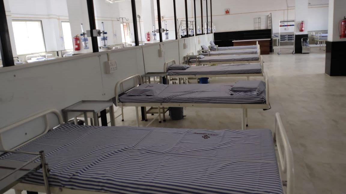 भाजपा आमदाराचे कौतुकास्पद कार्य; उभारले १०२ खाटांचे कोविड रुग्णालय