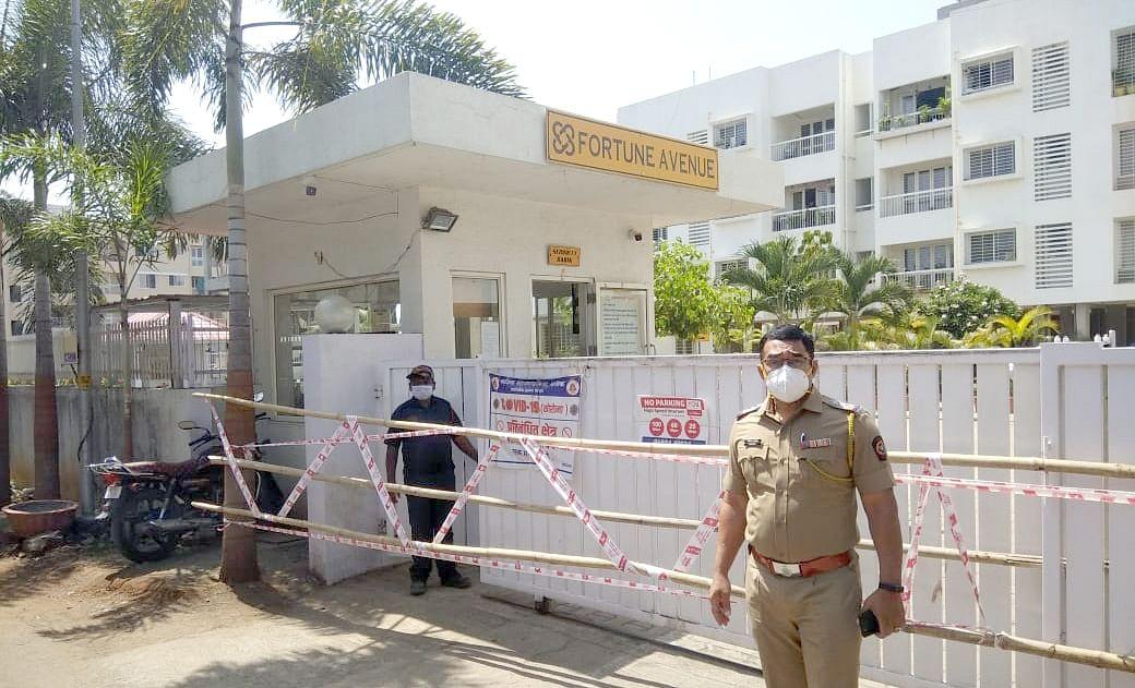 इंदिरानगरमध्ये पाच इमारती सील