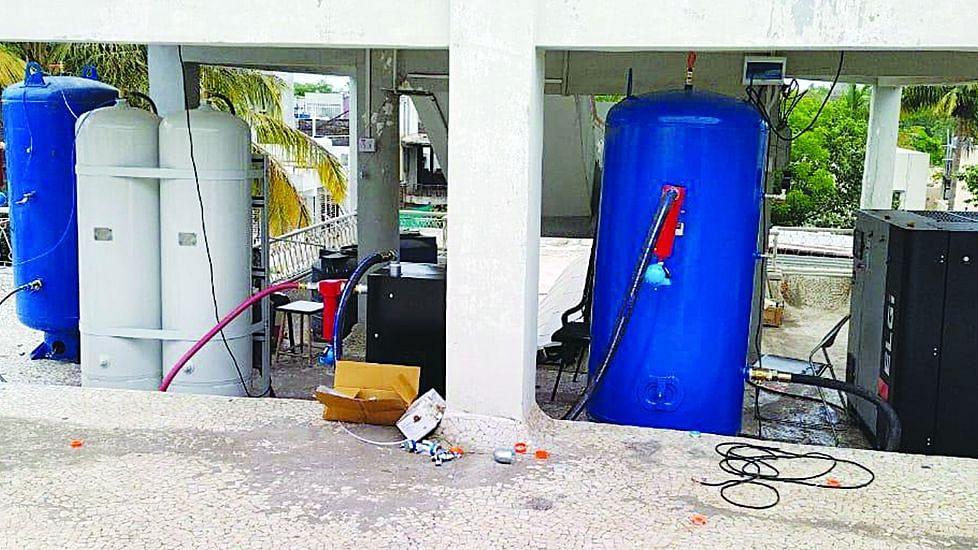 केशरानंद मल्टी स्पेशालिटी हॉस्पिटलमध्ये ऑक्सिजन प्रकल्प