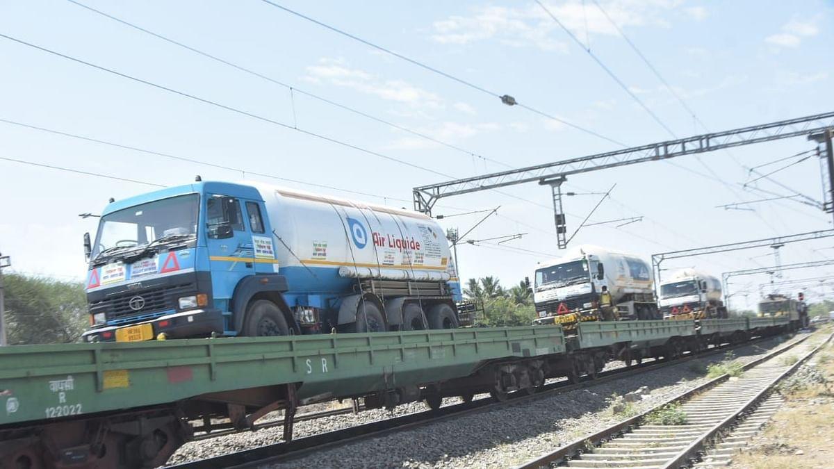 Oxygen Express train reaches Nashik