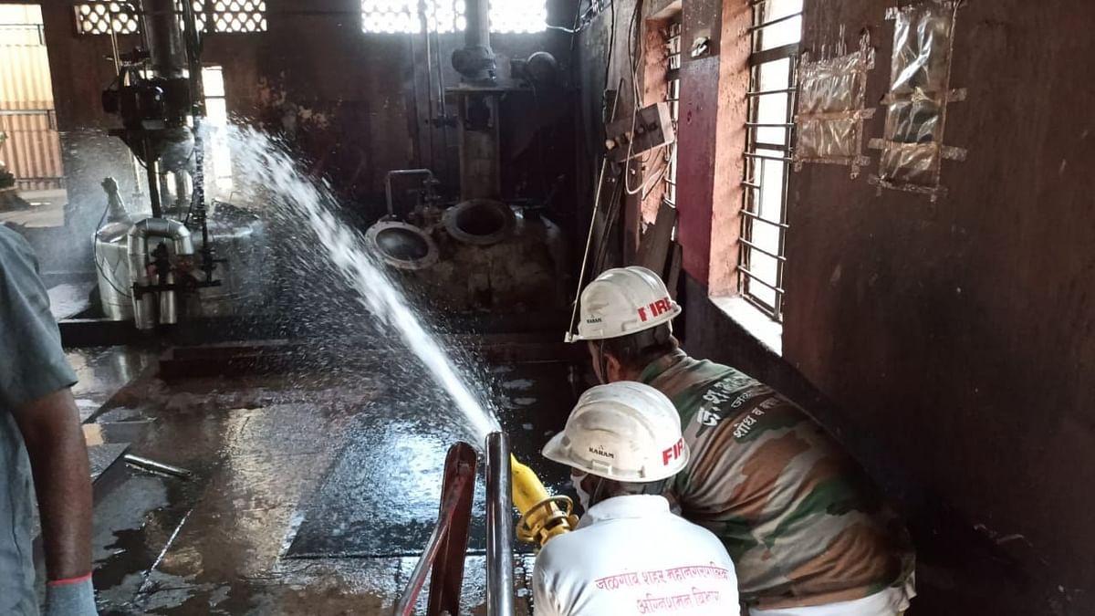 एमआयडीसीत मोरया ग्लोबल कंपनीतील केमिकलला आग