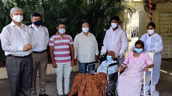 रेमडेसिवीर इंजेक्शन शिवाय 91 वर्षीय जेष्ठ नागरिकाची करोनावर मात