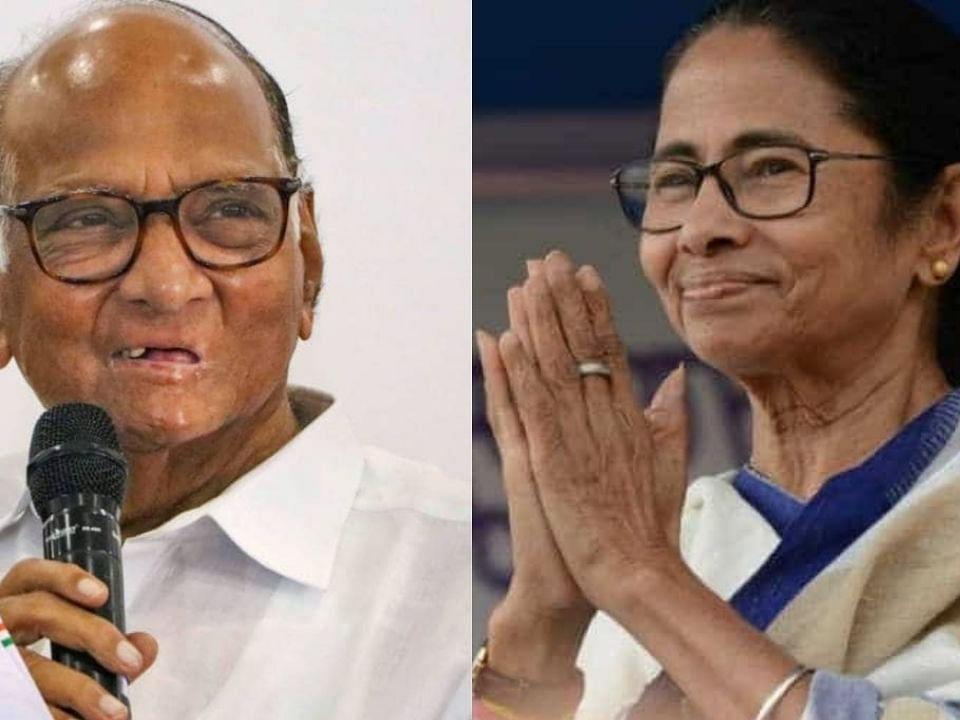 West Bengal Election Results 2021 : शरद पवारांकडून ममता बॅनर्जींचं अभिनंदन