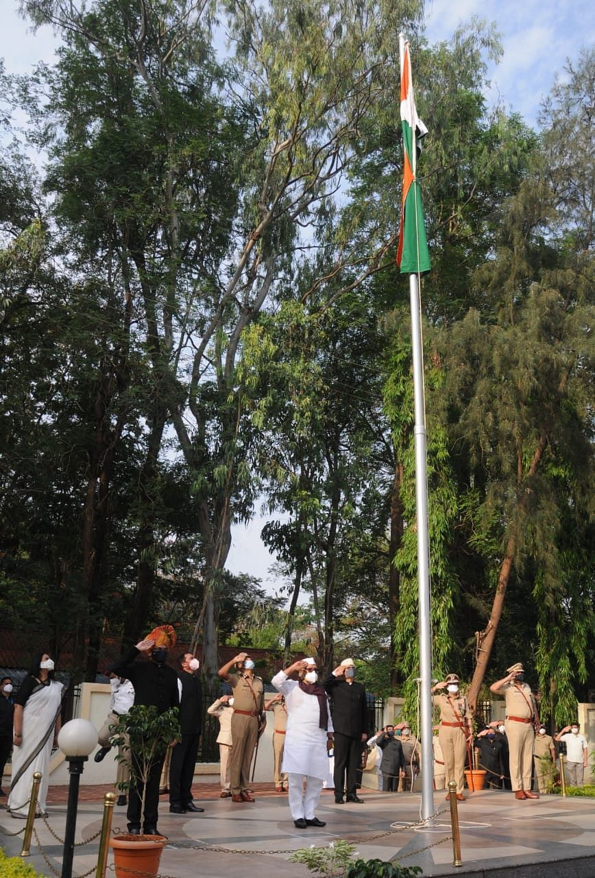 Maharashtra Day celebrated in simple manner