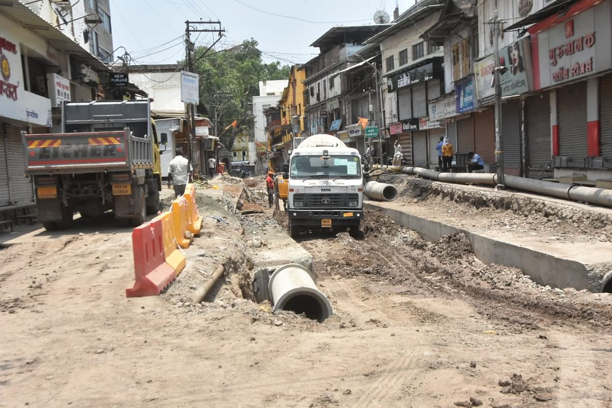 No more water logging, traders hope