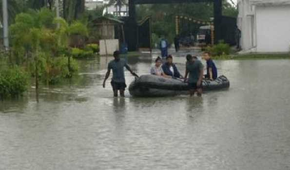 Indian Navy undertakes relief operations