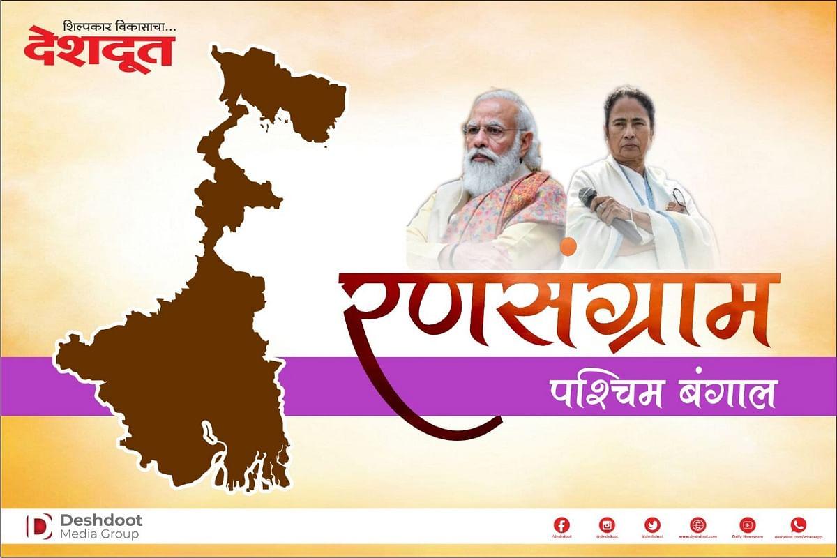 West Bengal Election Result : ममतांची डब्बल सेंच्चुरी, भाजप शंभरपासून दूर