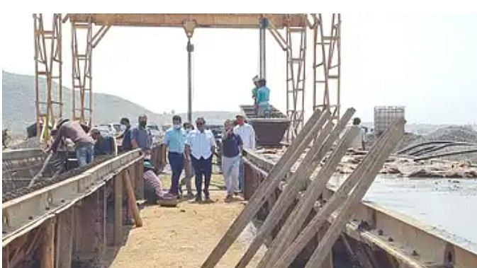 Work on Manjarpada, Bhujbal canal in the final stage