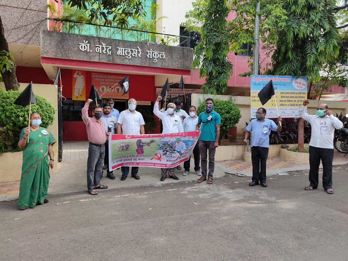 Farmers, workers stage agitation