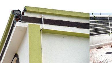 मुकूंद नगरातील घरावर कोसळली वीज
