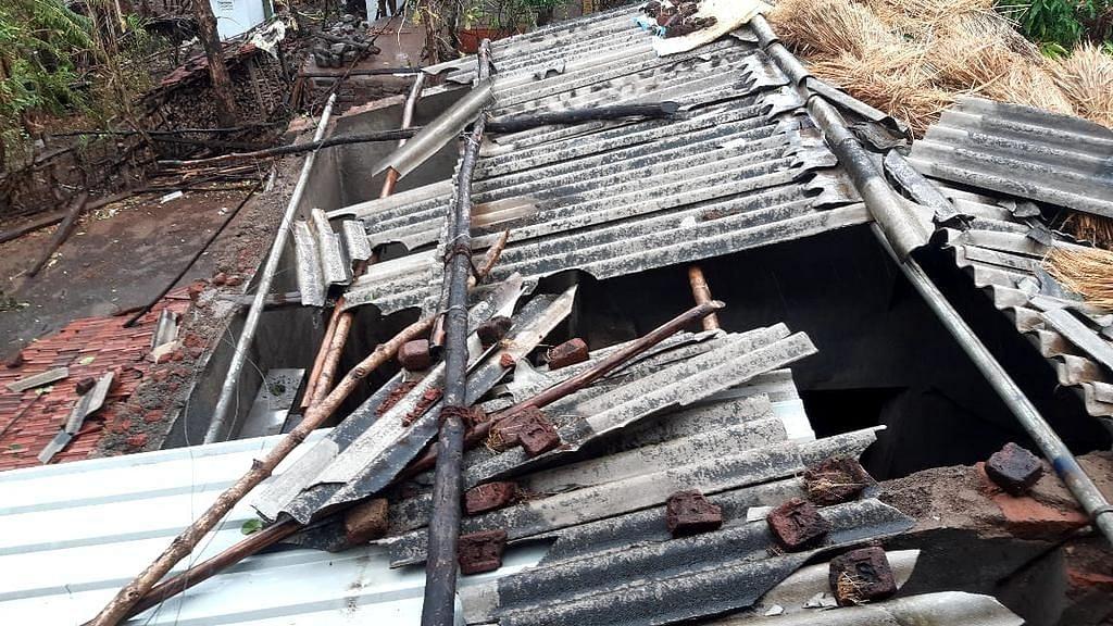 Cyclone aftermath