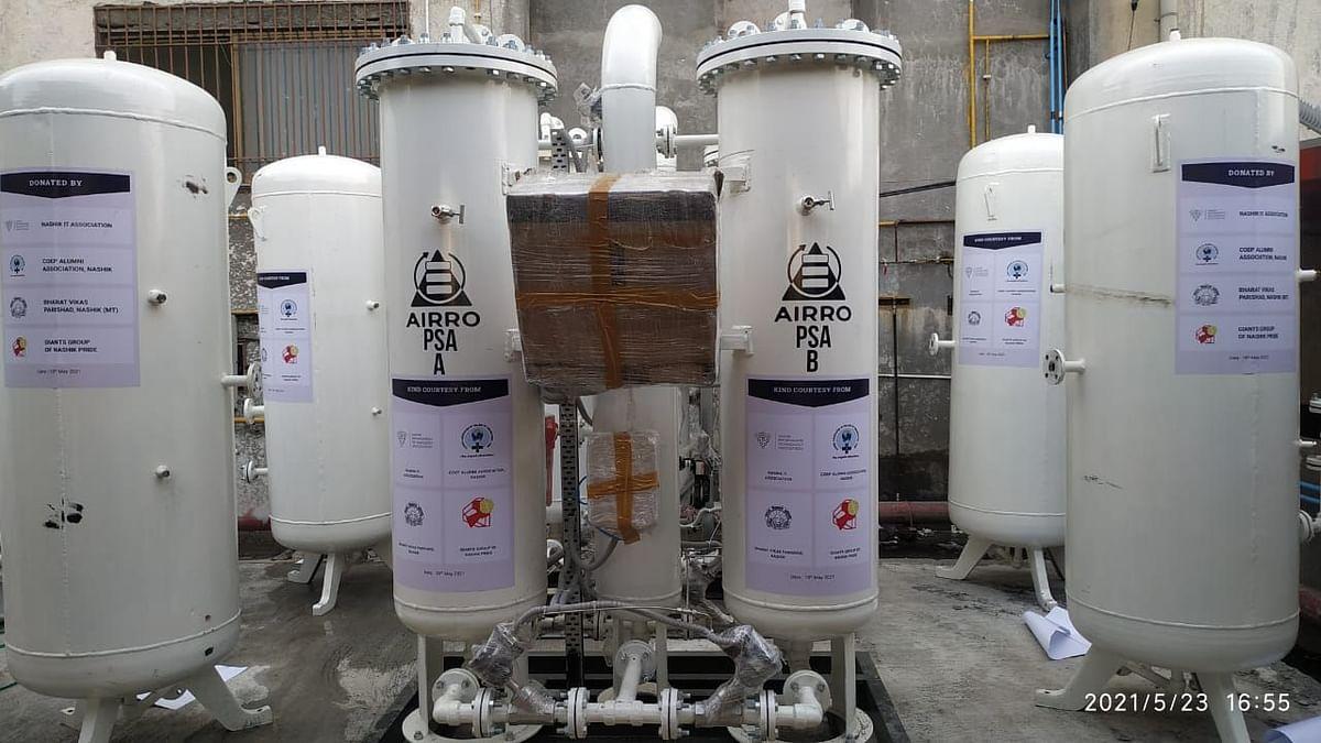 Social organizations set up oxygen plants at Bytco hospital