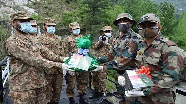 India, Pak Army exchange sweets on Eid