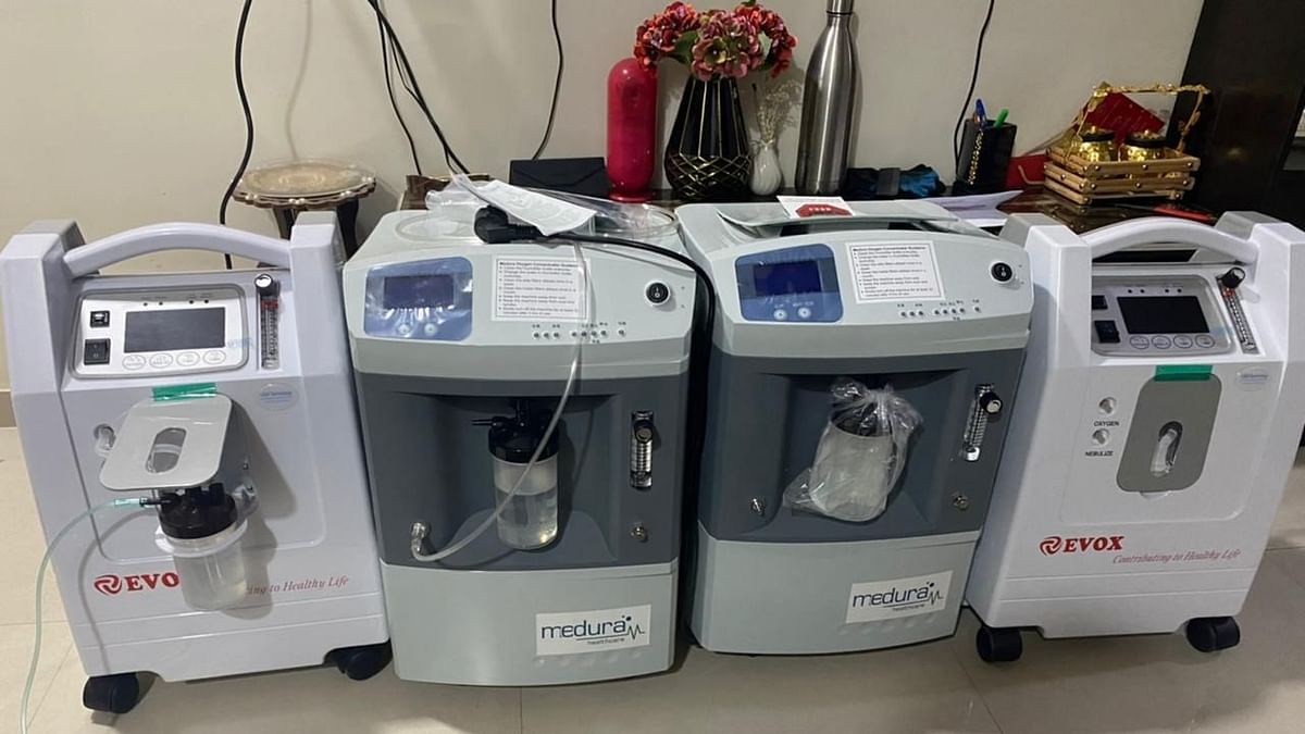 Oxygen machines helping home isolated patients