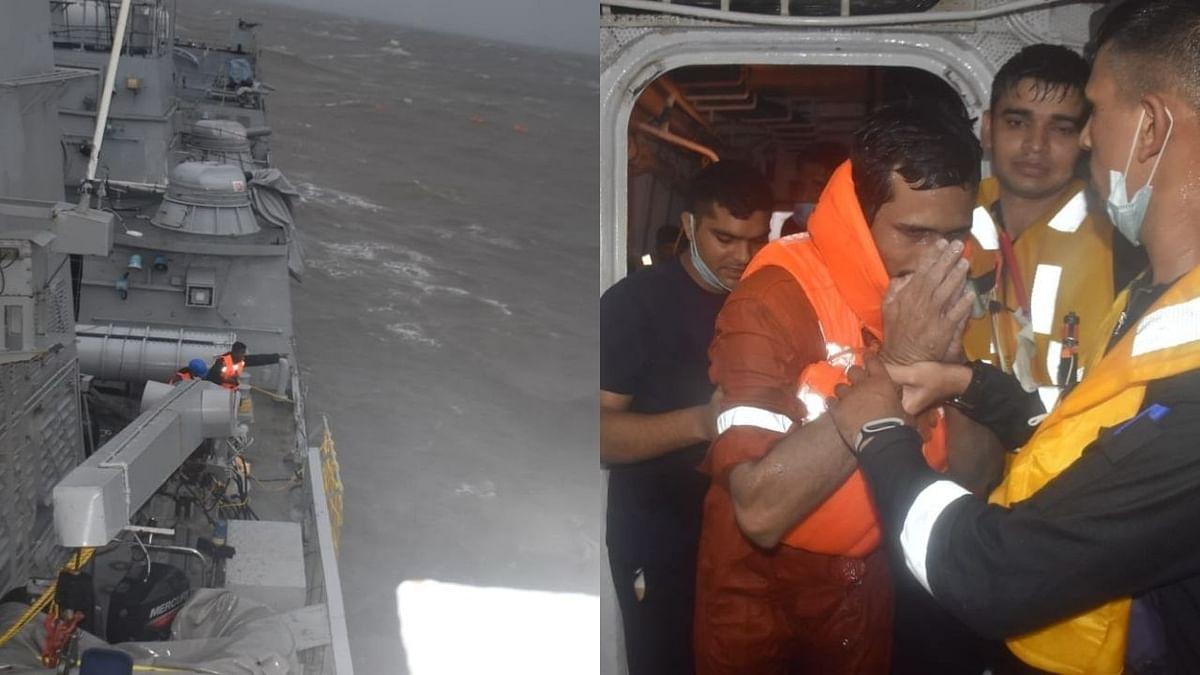 Cyclone Tauktea : बार्ज पी-३०५ दुर्घटनेत ३७ जणांचा मृत्यू, उर्वरीत सदस्यांचा शोध सुरू