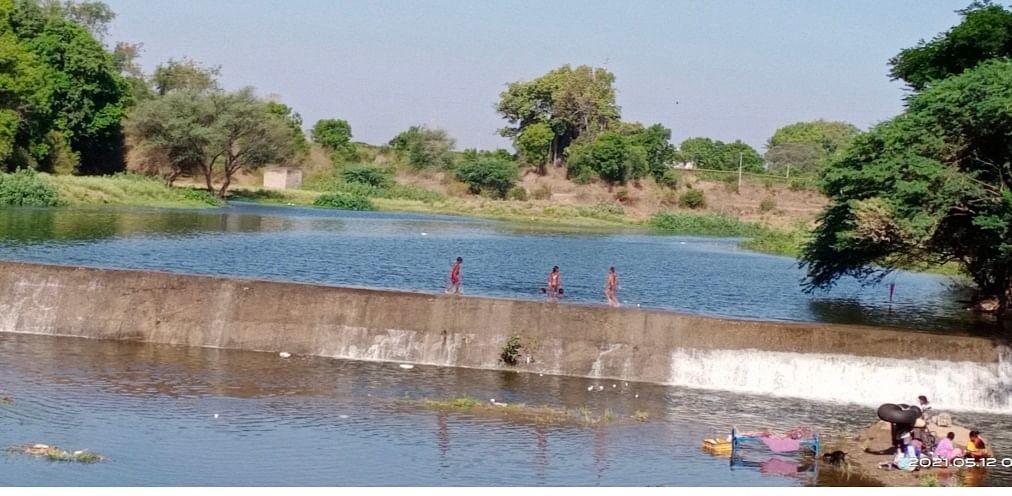 बाणगंगेला पाणी सोडल्याने आठ गावांची तहान भागली