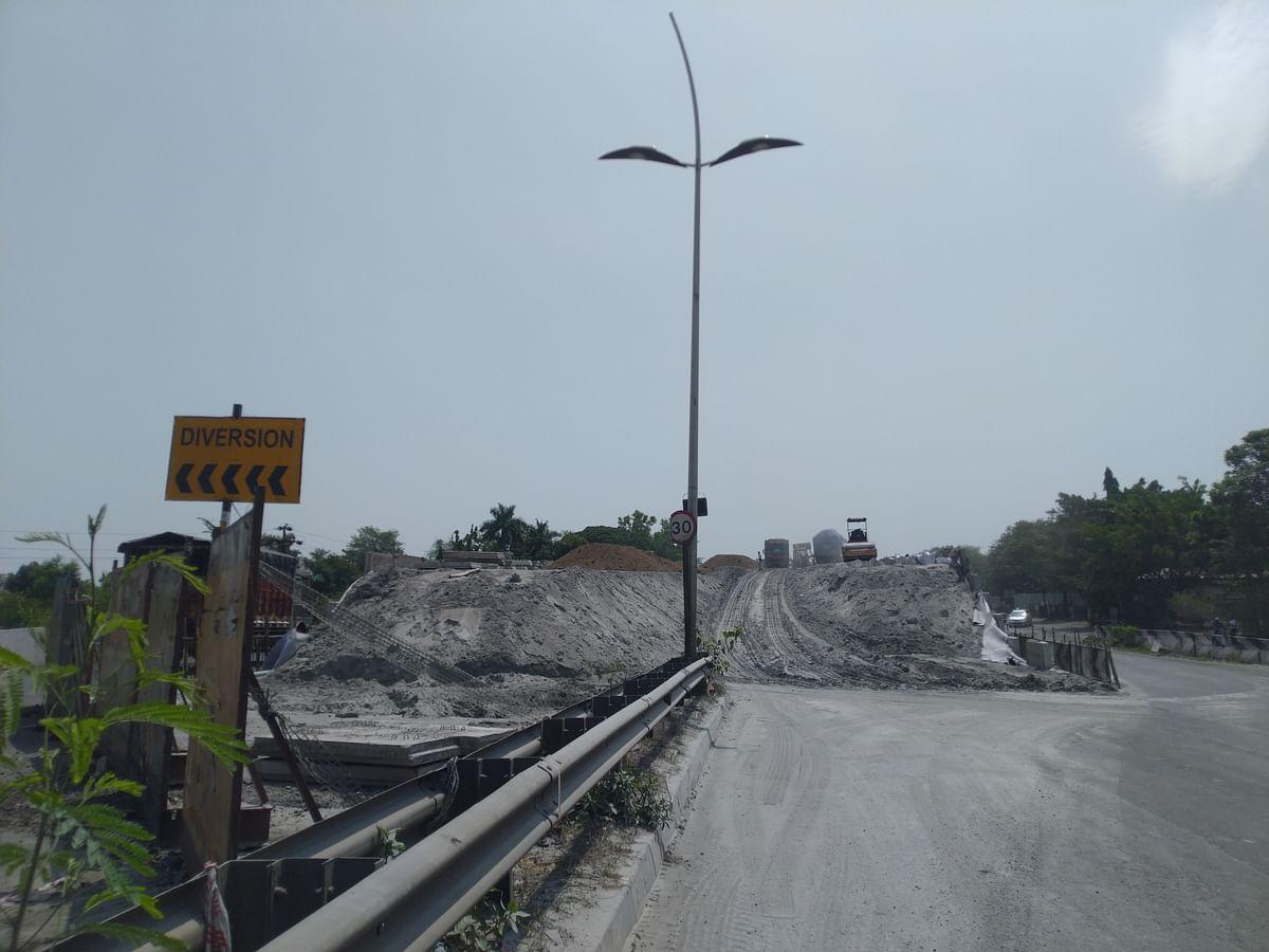 मुंबई- आग्रा महामार्गावरील कामामुळे वाहतूकीत बदल