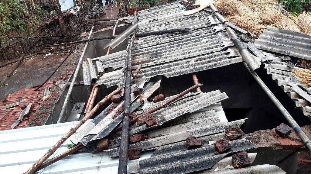 रायगड जिल्ह्यातील नुकसान
