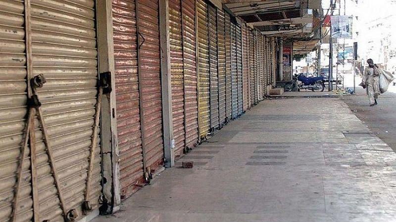 'लॉकडाऊन' मुळे व्यापारी आर्थिक डबघाईत