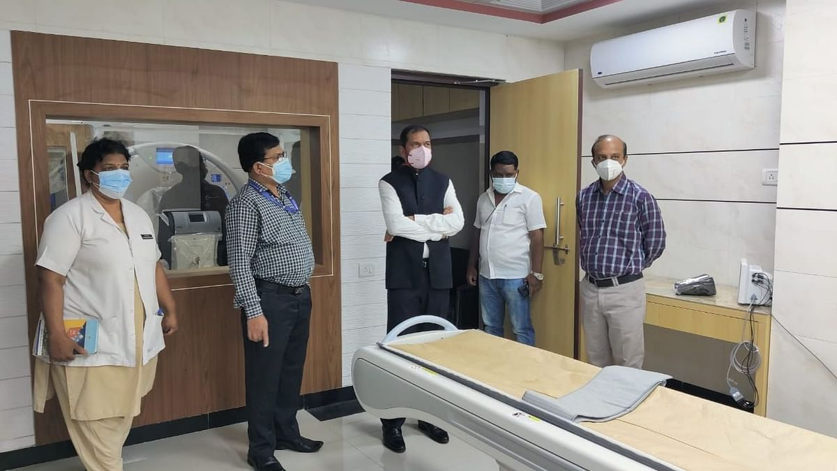 Launch of CT scan machine at Bytco Hospital