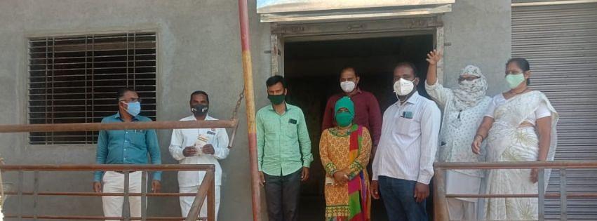 माळेवाडीत रॅपिड चाचणी करून 144 जणांचे लसीकरण