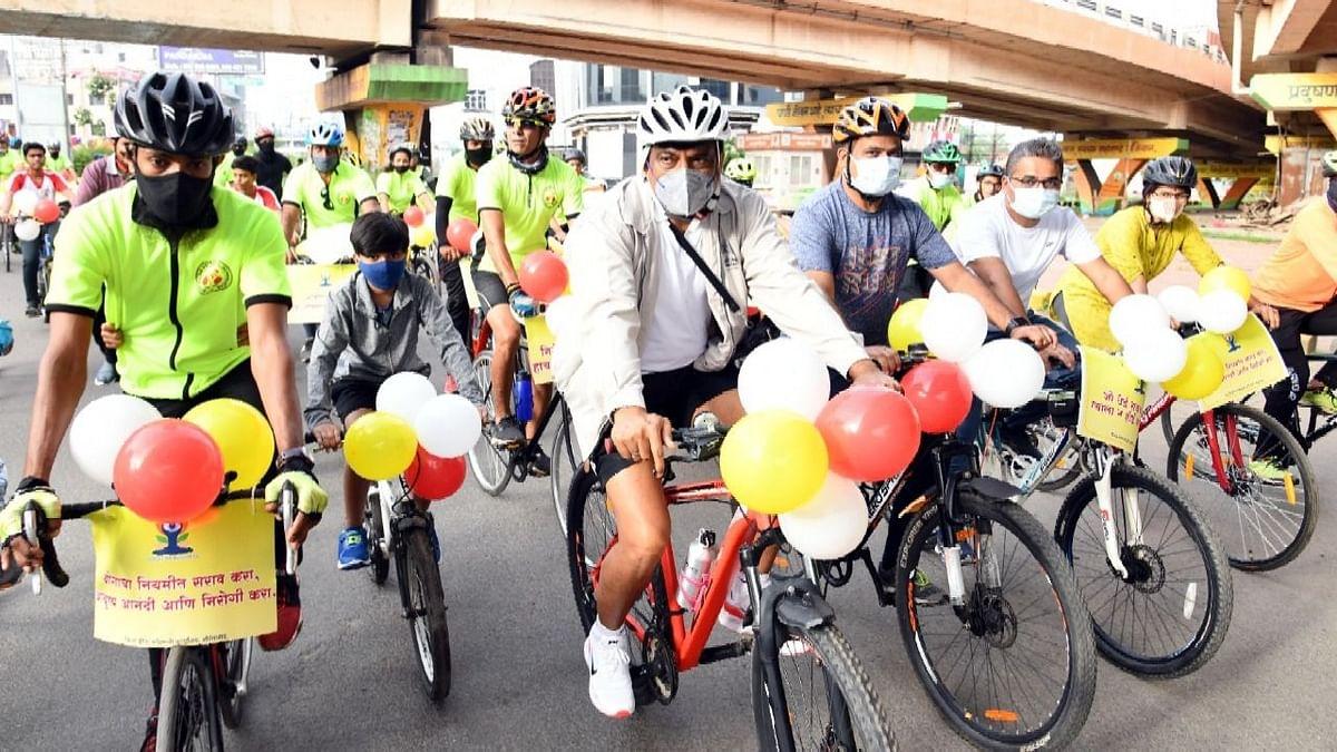 'सायकल चालवणे आरोग्य, पर्यावरण दृष्ट्या लाभदायी'